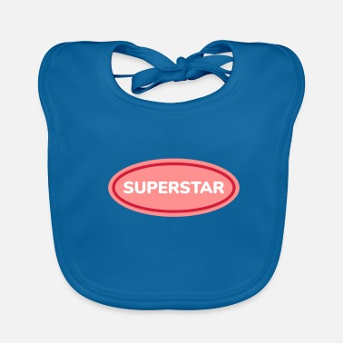 Superstar superstar - Bavoir bio Bébé