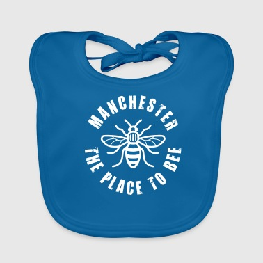 Manchester Manchester - The Place to BEE - Baby Organic Bib