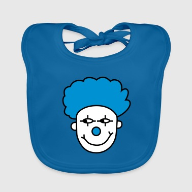 Paitus the clown - Baby Organic Bib