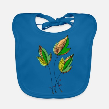 Decorating Decorative leaves - Baby Organic Bib
