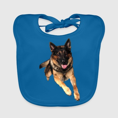 German Shepherd / German Shepherd - Baby Organic Bib