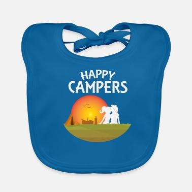 Outdoor Happy Campers Outdoor - Idée de cadeau - Bavoir bio Bébé