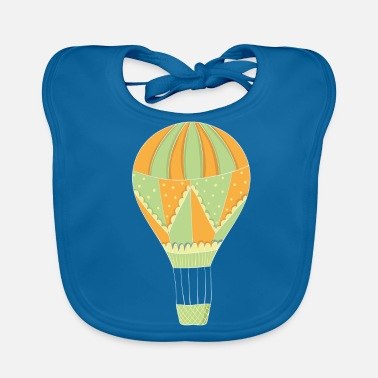 Hot Air Balloon Ballooning hot air balloon balloon - Baby Organic Bib