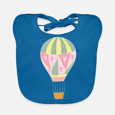 Hot Air Balloon Balloon ride on hot air balloon - Baby Organic Bib