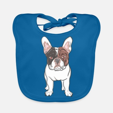 French Bulldog French bulldog gift - Baby Organic Bib