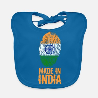 India Made in India / Made in India - Bio-slabbetje voor baby's