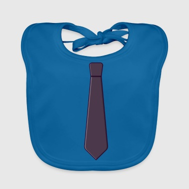 Necktie Gift idea for the day - Baby Organic Bib
