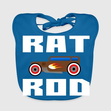 Rat Rod, Hot Rod - Bavoir bio Bébé