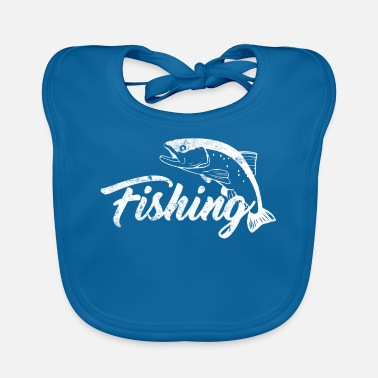 Fish Fishing fishing fish - Baby Bib