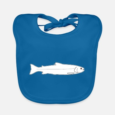 Trout Pond Trout rainbow trout brown trout fish fishing - Baby Bib