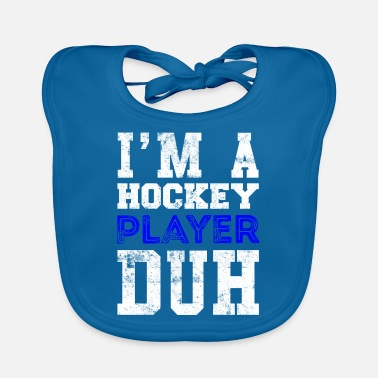 Cool Quote Hockey player quote Cool quote - Baby Bib