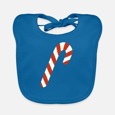 Candy Cane Candy cane - Baby Bib