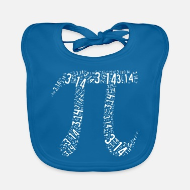 Leible Pi - the number - Leibl Designs - Baby Bib