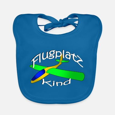 Airfield Airfield child plane glider - Baby Bib