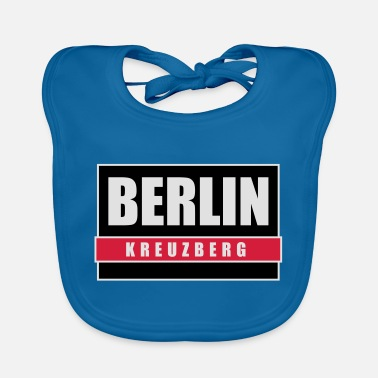 Berlin Kreuzberg capital Berlin T-Shirts - Baby Bib