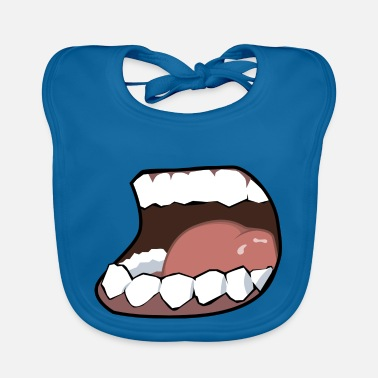 Mouth Hunger, mouth, mouth - Baby Bib