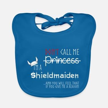 Shieldmaiden, Vikings - Baby Bib