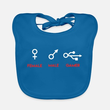 Male Friend Or Female Friend Female Male Gamer Gaming Gift - Baby Bib