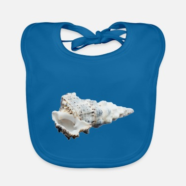 Reminder A shell that reminds of the holiday - Baby Bib