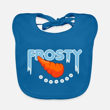Frosty Frosty the snowmen - Baby Bib