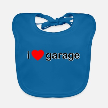 Garage-music I Love Garage DJ - Baby Bib