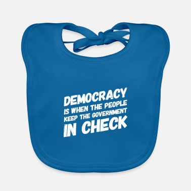 Government Government in check - Baby Bib