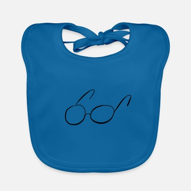 Glass glasses - Baby Bib