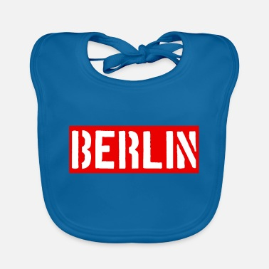 Berlin - Capital - Germany - Germany - Baby Bib