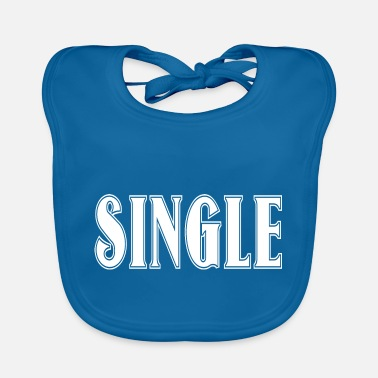 Clubbers single cool funny clubber gift idea - Baby Bib