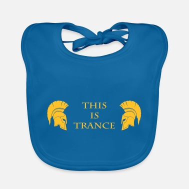 Trance This is Trance - Baby Bib