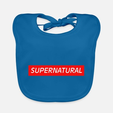 Supergirl Supernatural - Supernatural powers - Baby Bib