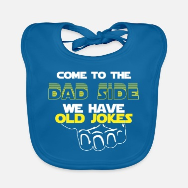 Nerd Come To The Dad Side We Have Old Jokes Gift - Slabbetje