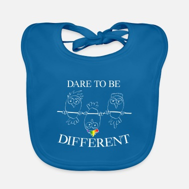 The Current Dad Be different Against the current LGBT bird gift - Baby Bib