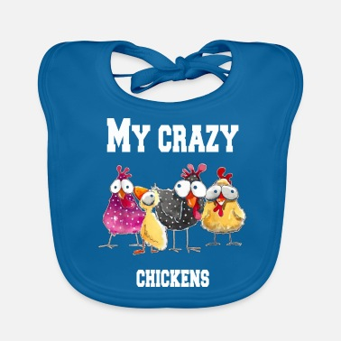 Easy My crazy chickens - Baby Bib