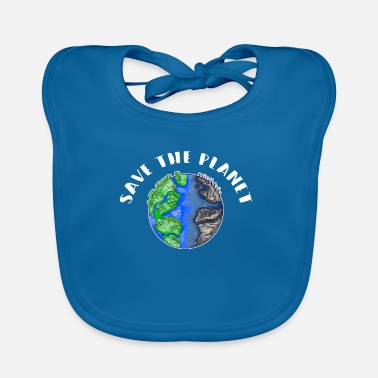 Earth Day Save The Planet Sustainability Nature Conservation Environment - Baby Bib