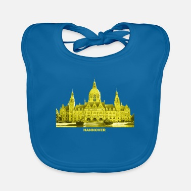Hannover City Hall Lower Saxony - Baby Bib