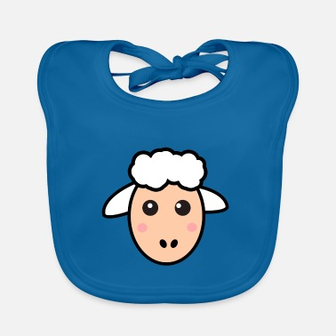 German Sheep Sweet Sheep Wool Herd Funny Gift - Baby Bib