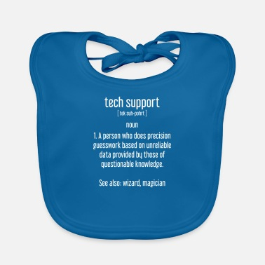 Informatique Support technique - IT - Nerd - PC - Informatique - Bavoir Bébé