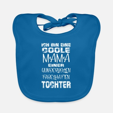 Cool Mom Daughter Gift Idea Mother's Day - Baby Bib