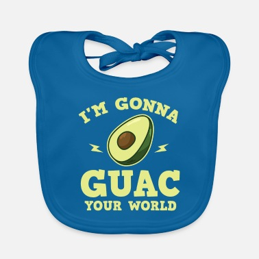 Common Tropical Fruits Cool I'm gonna GUAC your world T-Shirt - Baby Bib