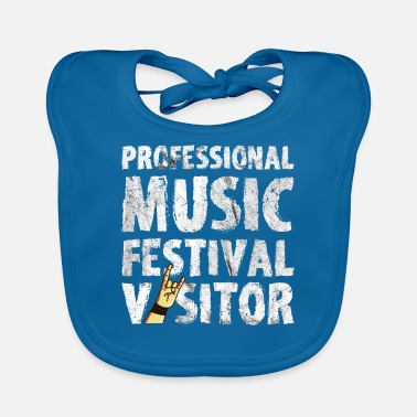 Concertgoers Music Festival Open Air Concert Party Gift - Baby Bib
