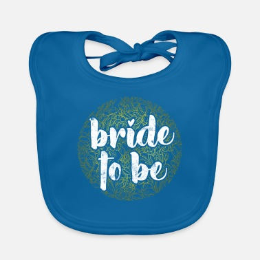 Groom Bride as a design gift - Baby Bib