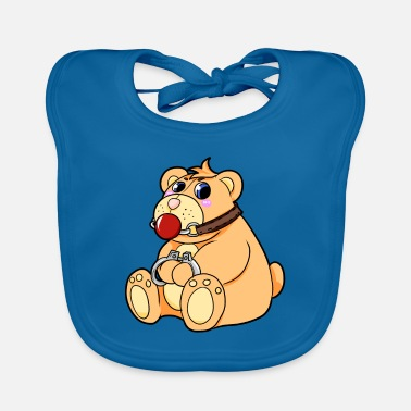 Bdsm BDSM teddy bear - Baby Bib