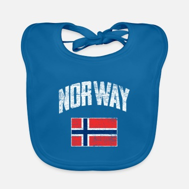 Norway Norway flag - Baby Bib