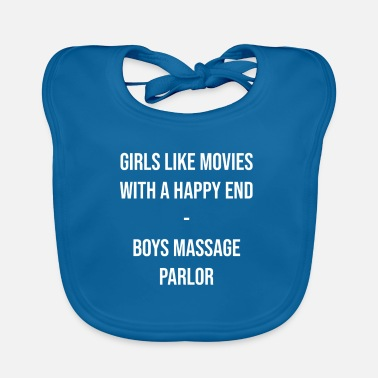 Happiness Underwear Massage with happy ending - Baby Bib