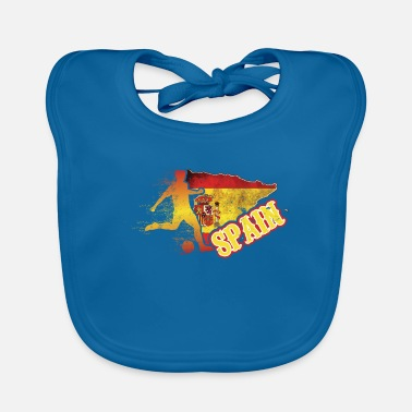 Spanish Football Worldcup Spain Spanish Spaniards Soccer - Baby Bib