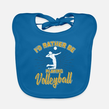 Bundesliga Volleyball player Bundesliga gift club - Baby Bib