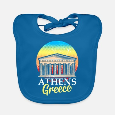 Greece Athens Greece Hellas Ancient Acropolis - Baby Bib