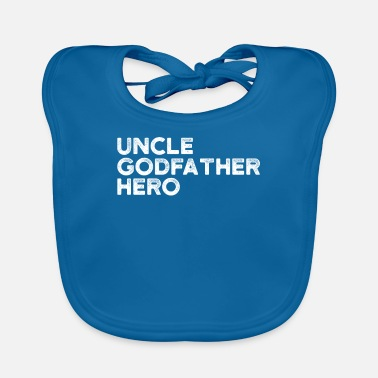 Peetoom Godfather Hero Uncle Shirt Beste Uncle Gift - Slabbetje