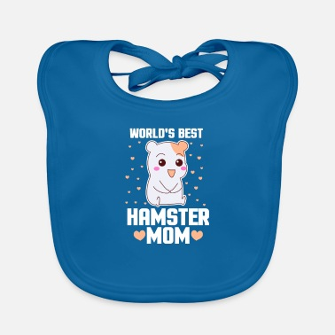 Rodent Hamster rodent rodents pet gift - Baby Bib